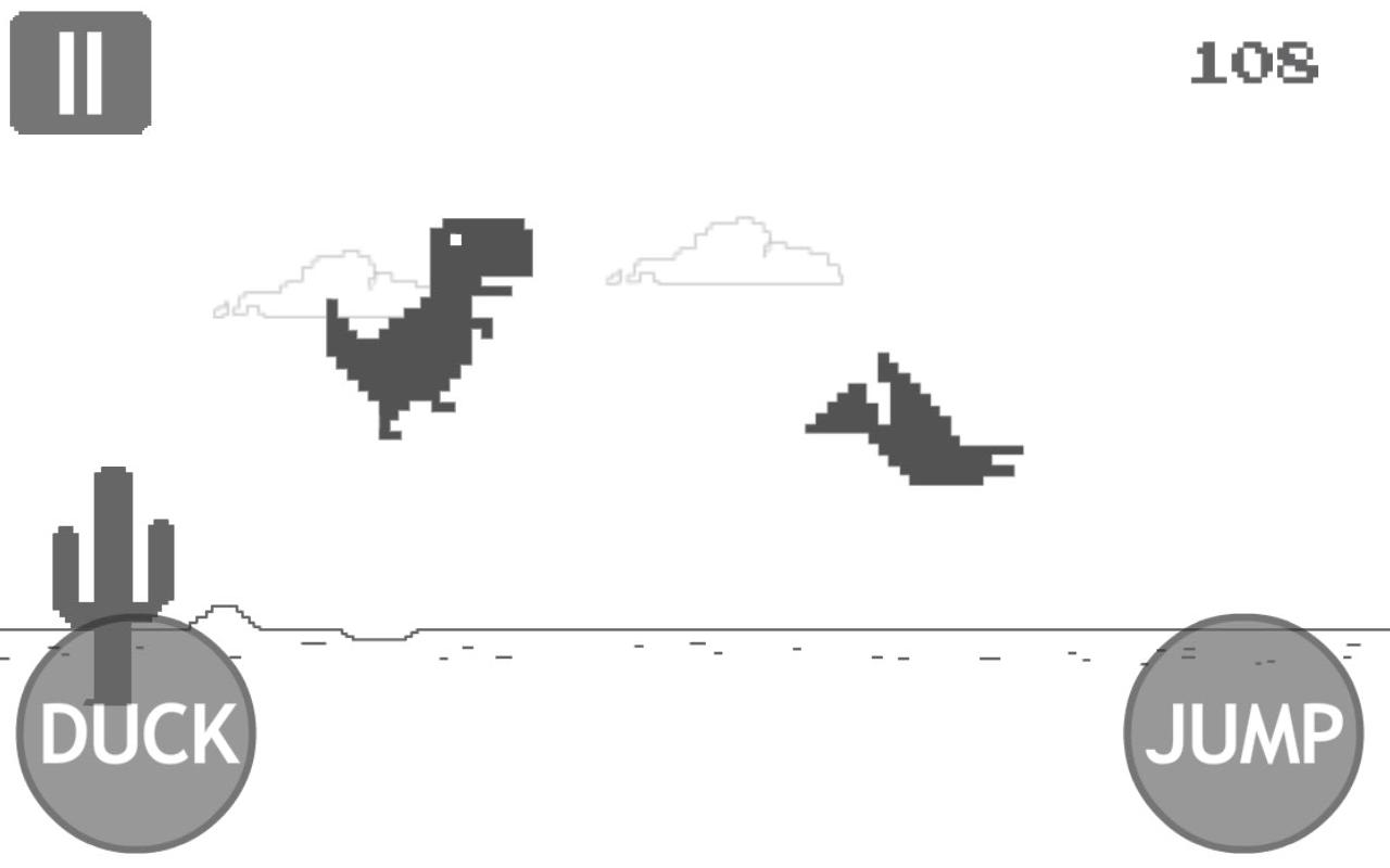 Chrome Dino Spiel
