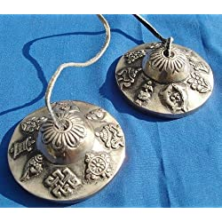 Campanas de oración tibetana Tingcha