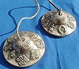Tingsha tibétain Huit signes auspicieux (Cloches de prière) - Fair Trade