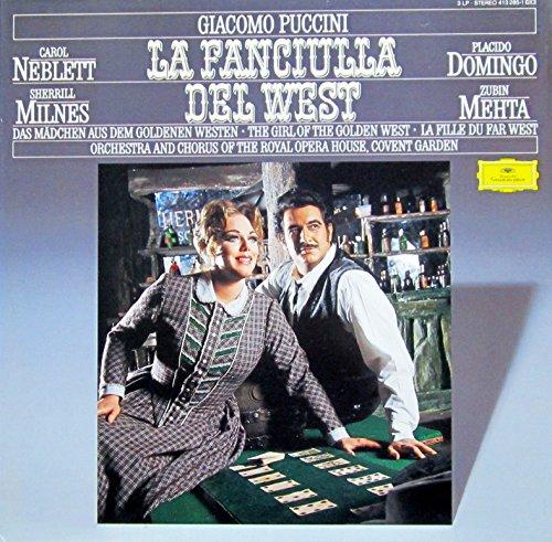 Puccini: La Fanciulla Del West (Das Mädchen aus dem Goldenen Westen) (Gesamtaufnahme, italienisch) [Vinyl Schallplatte] [3 LP Box-Set] (John Sherrill Music)
