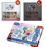 Disney Brigamo 51641 Frozen Eiskönigin magisches Puzzle - leuchtet im Dunkeln!