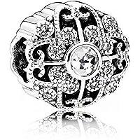 Pandora Damen-Charm 925 Silber Zirkonia weiß - 791961CZ