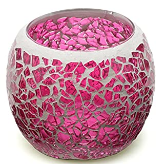 Japan Health and Beauty - (Andiamo) Andiamo aromatherapy candle light glass cup (Pink Trinity) *AF27*