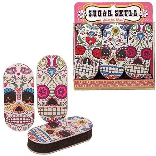 Nail File Sugar Skull Set Of 3 by ()