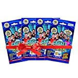 #3: Topps Cricket Attax IPL CA 2017 Multi Pack, Multi Color (Pack of 4)
