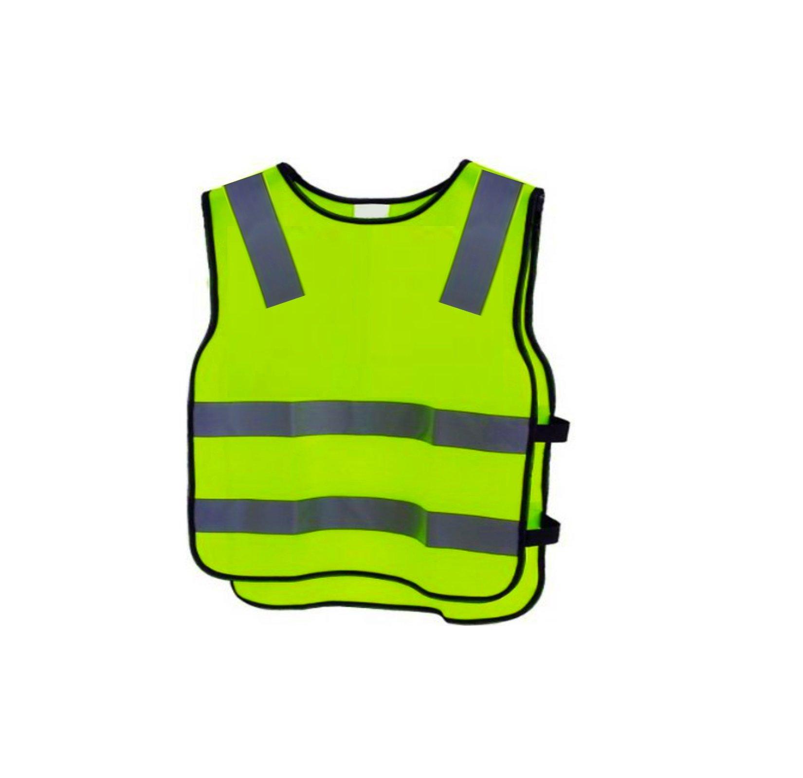 5, 4-6 Years Kids High Visibility Hi Viz Safety Vest Top Hi Vis Baby Toddler Waistcoat Childrens Yellow Reflective vest