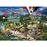 Gibsons Puzzle - I Love The Country - 1,000 Piece Jigsaw