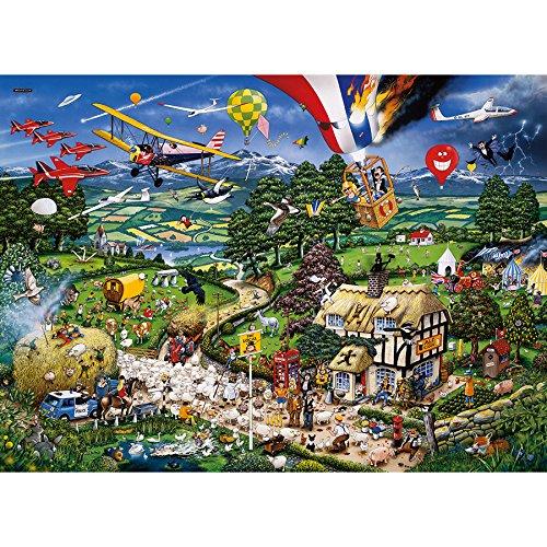 ?I love the Country?-Puzzle von Gibson mit 1000Teilen. Preisvergleich