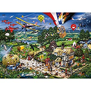 Gibsons Games - Puzzle con marco, 1000 piezas (65756)
