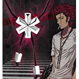 Skylynn--K Anime Isana Yashiro, Suoh Mikoto Spielzeug Zubehör Halskette 925 Silber