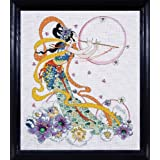 """Flute Player Counted Cross Stitch Kit-16""""X20"""" 14 Count"""
