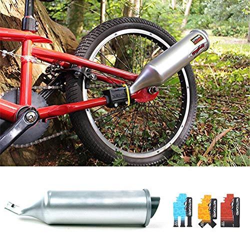 Turbospoke Fahrrad Auspuffanlage Sechs Soundeffekte Motorrad Wilder Soundeffekt Lautsprecher Auspuffrohr