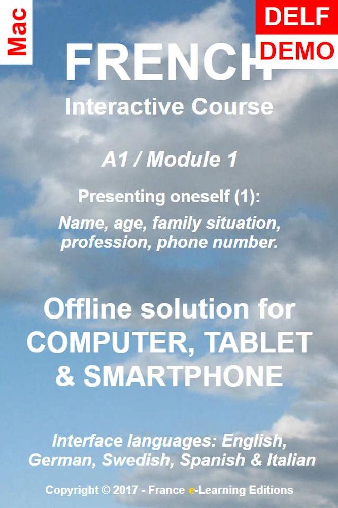 Französisch lernen: Interaktiver Kurs - A1 (Anfänger) / Modul 1: