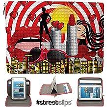 Streetslips iPad Mini universale 20,3cm custodia per il trasporto, copertura, stand (Diva)