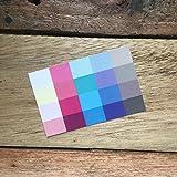 Set Großer und kleiner Farbpass, Make-Up-Pass Sommer, Sommertyp, Farbkarte, Sommerfarben Sommertyp,kalter Farbtyp, Farbfächer, Farbberatung, Typberatung, Farbkarten, Farbpalette Vergleich