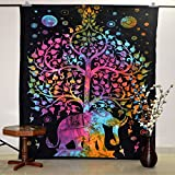 Hippie Dorm Tapestries Tree Of Life Elep...