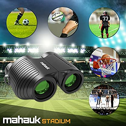 Auto Focus Compact Mini Binoculars for Adults and Kids, 40 to 1000m, x10 Magnification Provides Ideal Field of Vision with No Shake Stability. Never Miss Another Precious Moment Trying to Focus