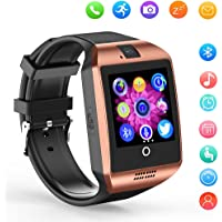 Kxcd Bluetooth Smartwatch Q18 Montre-Bracelet Support NFC Camera TF Card Smart Watch pour téléphone Android iOS iPhone Huawei Samsung