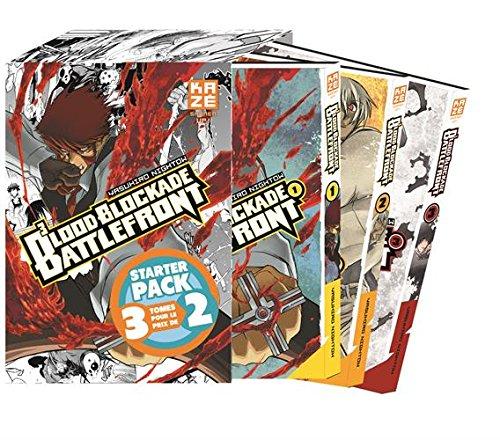 Blood Blockade Battlefront : Coffret en 3 volumes : Tomes 1 à 3