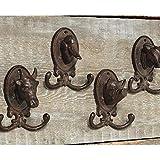 Appendiabiti da Parete in 44 Set Ganci Guardaroba parete Motivo animali