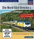 Die Nord-Süd-Strecke Teil 1 - Hannover - Göttingen [Blu-ray] [Import allemand]