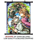 Howl's Moving Castle Anime Fabric Wall Scroll Poster (16x23) Inches