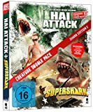 DVD Cover 'Creature Double Pack - SHARK Edition 2: Hai Attack & Supershark [Blu-ray] (2-Disc Set)