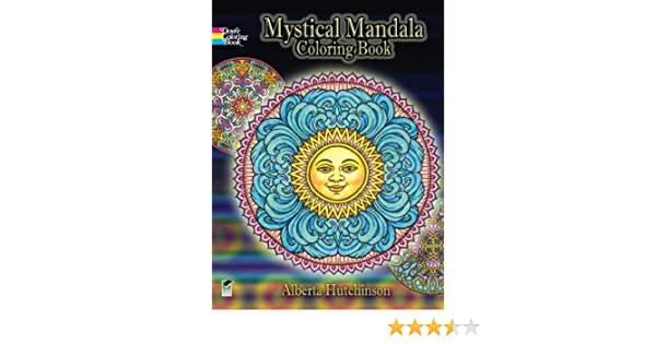 Buy Mystical Mandala Coloring Book Dover Design Books Online At Low Prices In India