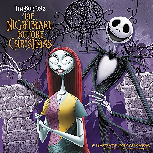 (The Nightmare Before Christmas Wandkalender (2019))
