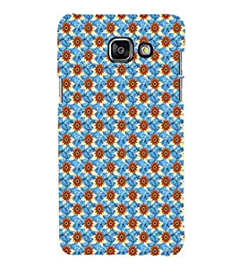 iFasho Modern Art Design animated cloth Pattern of sunflower Back Case Cover for Samsung Galaxy A5 A510 (2016 Edition)