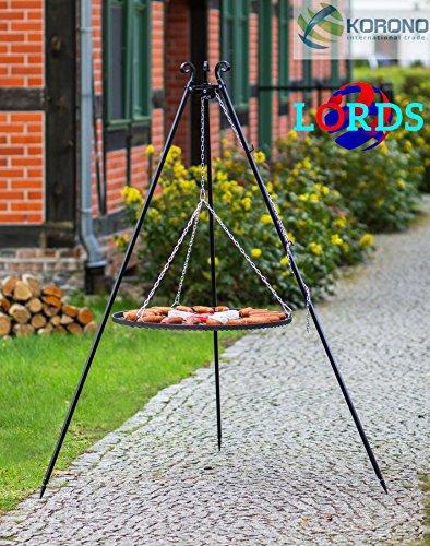 101Stahl schwarz 50cm Gitter auf Stativ Stange 5mm/Rahmen 20x 4mm hochwertige Qualität Handgefertigt hergestellt in Polen
