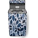 Stylista Washing Machine Cover Suitable for LG 6.5 kg T7577NEDL1 Fully-Automatic Top Load Printed Pattern