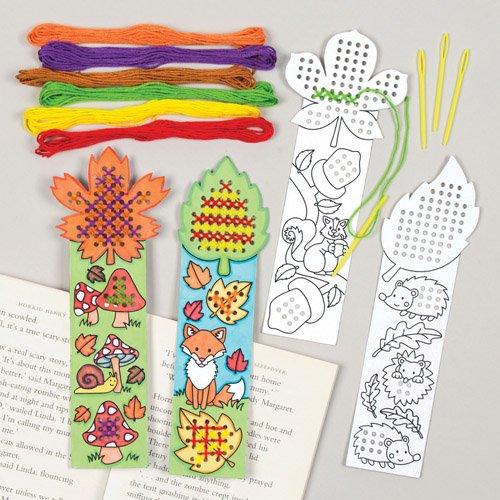 kits-de-4-modeles-assortis-de-marque-pages-dautomne-avec-point-de-croix-lot-de-loisirs-creatifs-que-