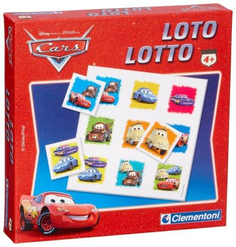 Clementoni–12588–Lernspiel–Lotto Cars