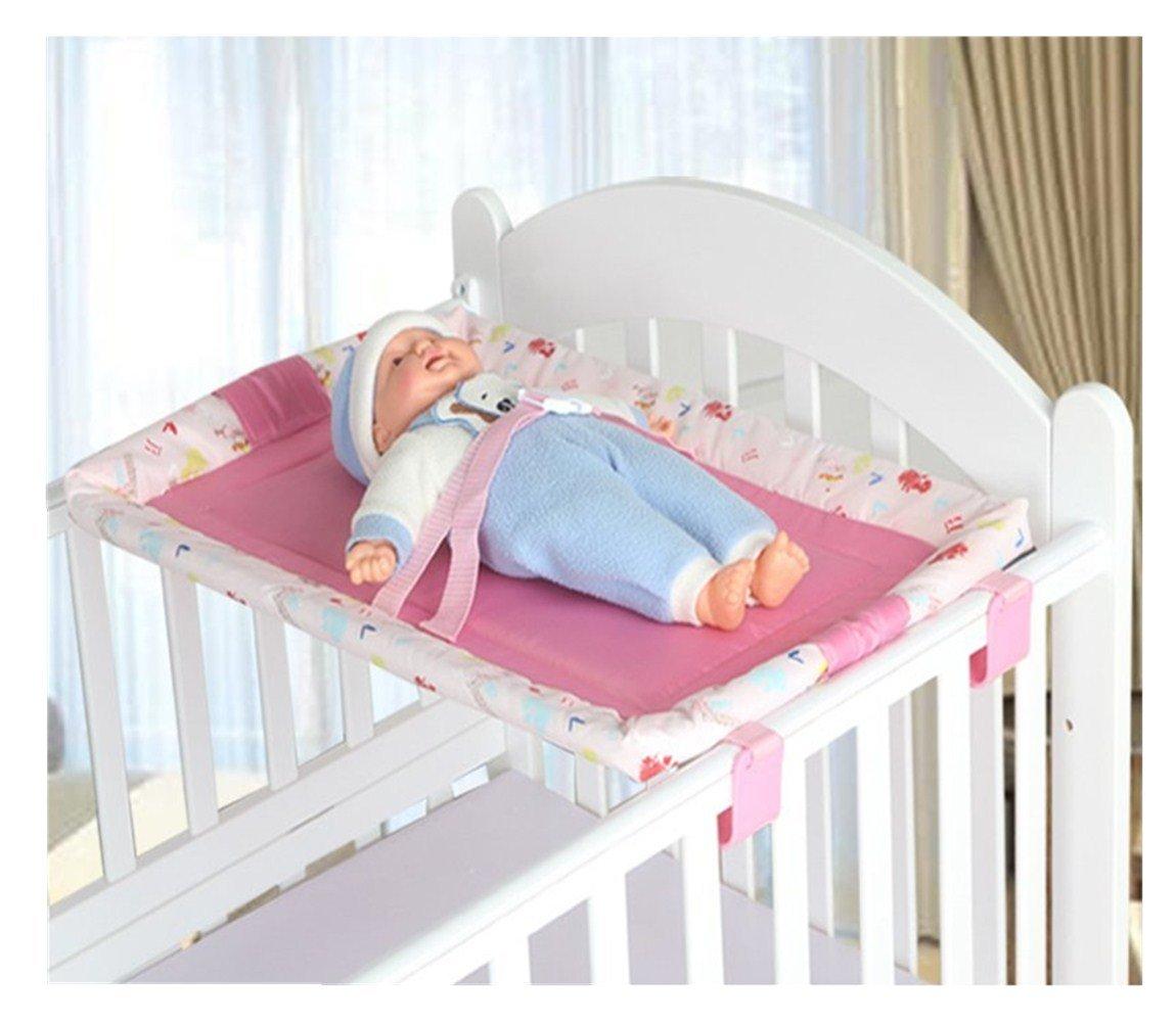 Universale Culla Top Changer bambino portatile fasciatoio 5 colori 70 X 45 CM (Rosa)