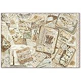 Stamperia Papel De Arroz Cartas Antiguas Y Encaje, Multicolor, 48 X 33 Cm