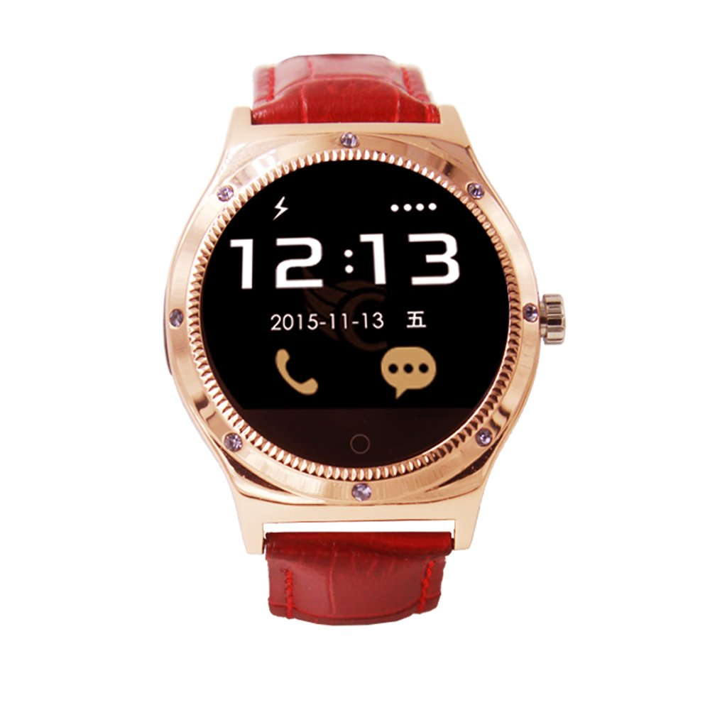 RWATCH NEW R11S Bluetooth Smart Wrist watch for Android IOS phone samsung LG,Gloden