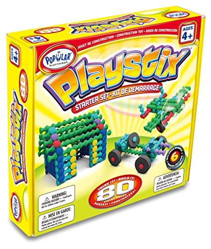 Popular Playthings Spiel auseinanderzuhalten Playstix Starter Set (80)