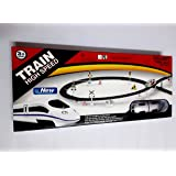 Funnytool High Speed Battery Operated Train Set for Kids (Metro)