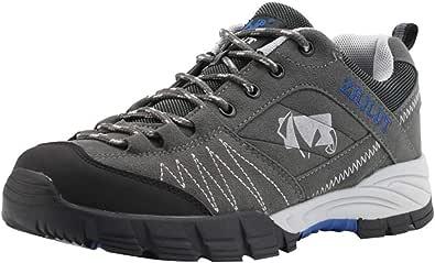 Bluestercool Scarpe da Trekking da Uomo - Impermeabili, Traspiranti, Fodera in Rete, Suola ad Alta trazione - per Trekking e Campeggio