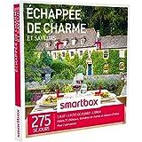 SMARTBOX - Coffret Cadeau - ECHAPPÉE DE CHARME ET SAVEURS - 275 séjours : maisons d'hôtes, hôtels 3*, châteaux