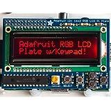 Adafruit RGB Negatif 16x2 LCD + Keypad Kit pour Raspberry Pi