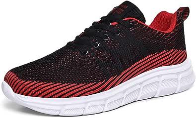 BaiMoJia Scarpe da Ginnastica Uomo Sportive Respirabile Basse Outdoor Mesh Running Sneakers