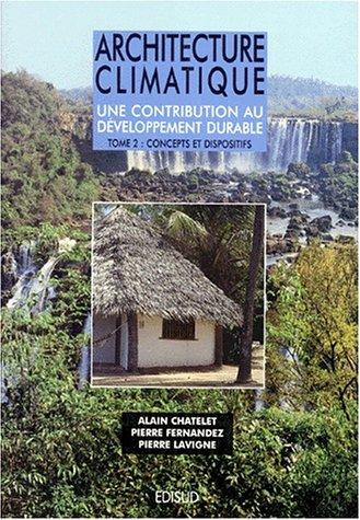 Architecture climatique, tome 2 par Collectif