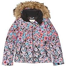 Roxy ERJTJ03053-KVJ9_S, Chaqueta de Nieve Para Mujer, Multicolor (KVJ4), S