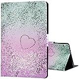 Huawei Mediapad T3 10 Hülle Case, Purple Angel Flip PU Ledertasche Ultra Schlank Kunstleder Folio Schutzhülle Etui Tasche Smartshell Case Ständer Cover mit Standfunktion für Huawei MediaPad T3 24,3 cm (9,6 Zoll) Tablet