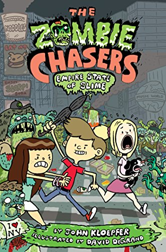 The Zombie Chasers #4: Empire State of (Halloween Abenteuer York New)