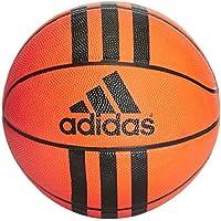 Adidas 3 Stripes Mini Basket Ball, Unisex Adulto, Orange/Black, 3