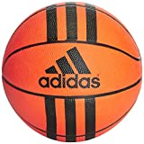 adidas 3-Stripes Mini Basketball Unisex, Orange/Black, 3