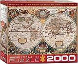 Antique World Map 2000pc Puzzle